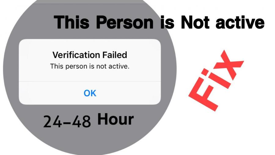 this apple id is not active fix